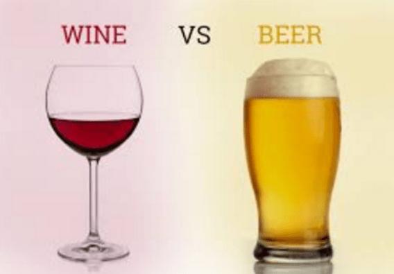 Capa vinho vs cerveja