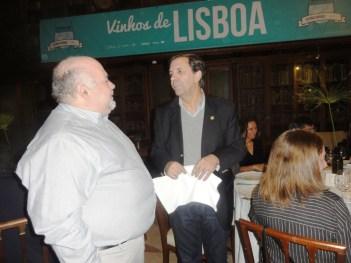 Com o Eng António Ventura de quem tenho honra de ser amigo e reconhecer o grande trabalho seu como enólogo