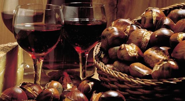 Vinho, castanhas e não só