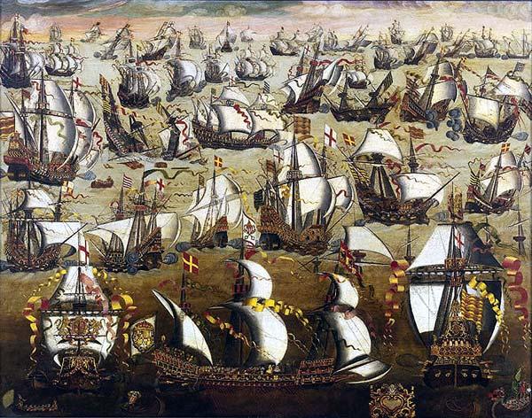 003 navios inglat-invencível armada