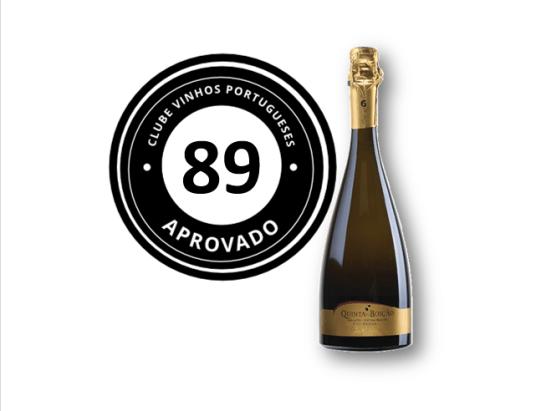 Apreciacao Espumante Quinta do Boição Special Cuvée Extra Bruto Branco 2010