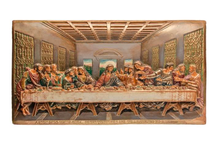 Célebre obra de Leonardo Da Vinci - A Última Ceia de Jesus Cristo
