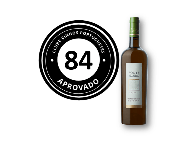 apreciacao Fonte Mouro Chardonnay Reserva Branco 2015