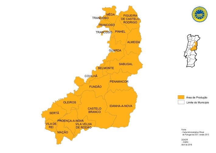 Mapa da IGP