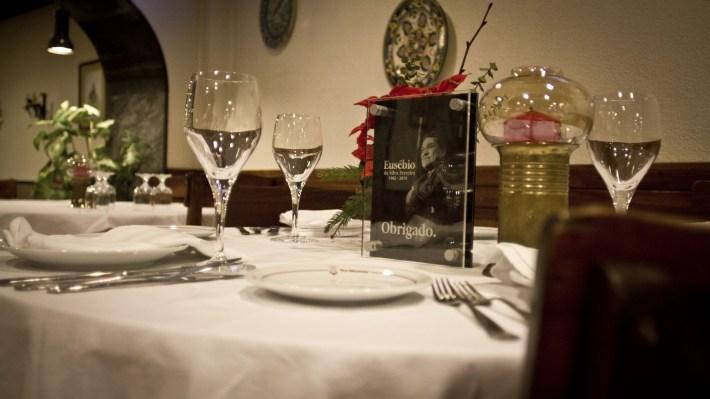 A mesa de Eusebio na Tia Matilde