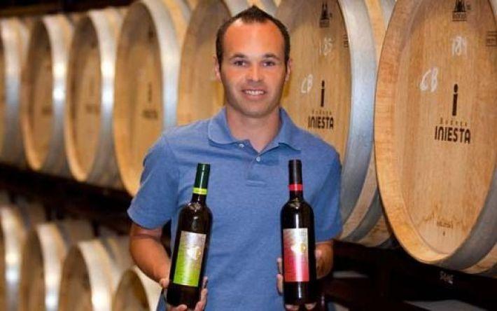 Andres Iniesta de jogador a produtor de vinhos 8