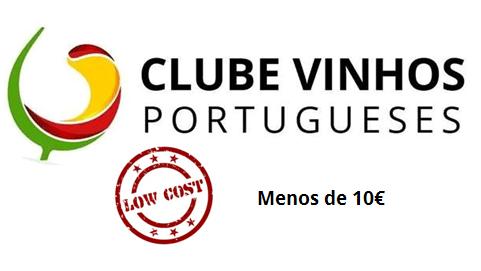 Ranking Low Cost Menos de 10 Euros Clube de Vinhos Portugueses 2018