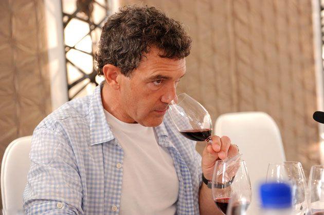Antonio Banderas um ator que é produtor de vinhos
