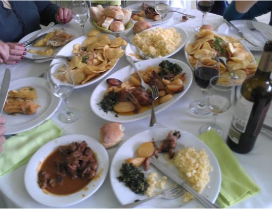 Sugestão de Domingo com bons vinhos portugueses e gastronomia de Terras de Basto