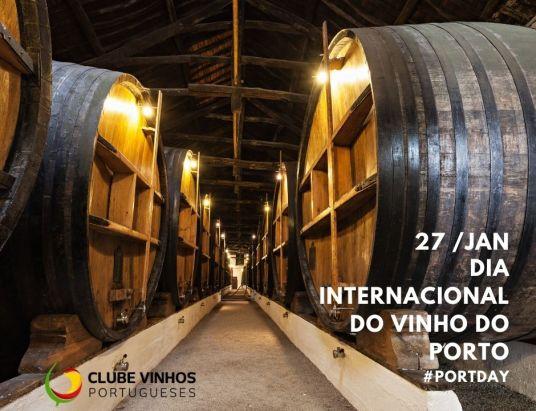 Dia Internacional do Vinho do Porto desde 2012 - 27 de Janeiro