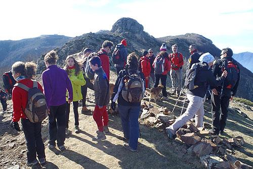 Les Agudes pel camí dels Castellets 1 - Diumenge, 11 de gener de 2015