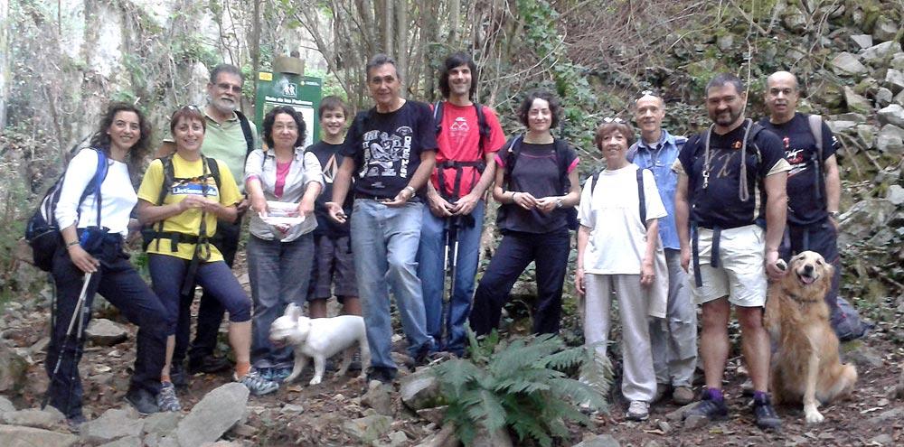 Ruta de les pedreres (La Cellera de Ter) 1 - Diumenge, 27 d'octubre de 2013