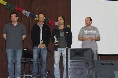 Cloenda de la Copa Catalana de Raquetes 2010 1