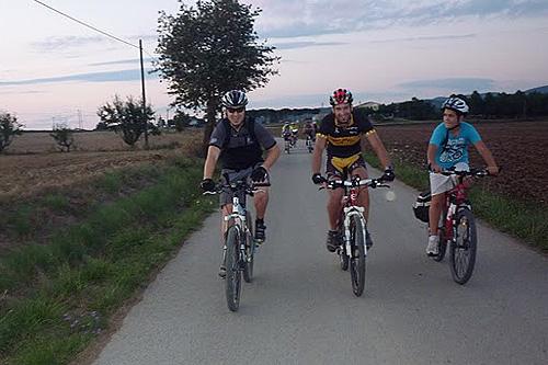 Bicicletada a la Pineda fosca 1 - Dissabte, 30 de juliol de 2011