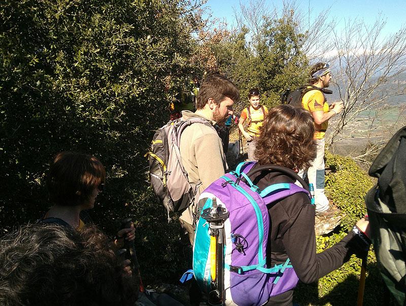 Mieres - Puigsallança 2 - Diumenge, 26 de febrer de 2017