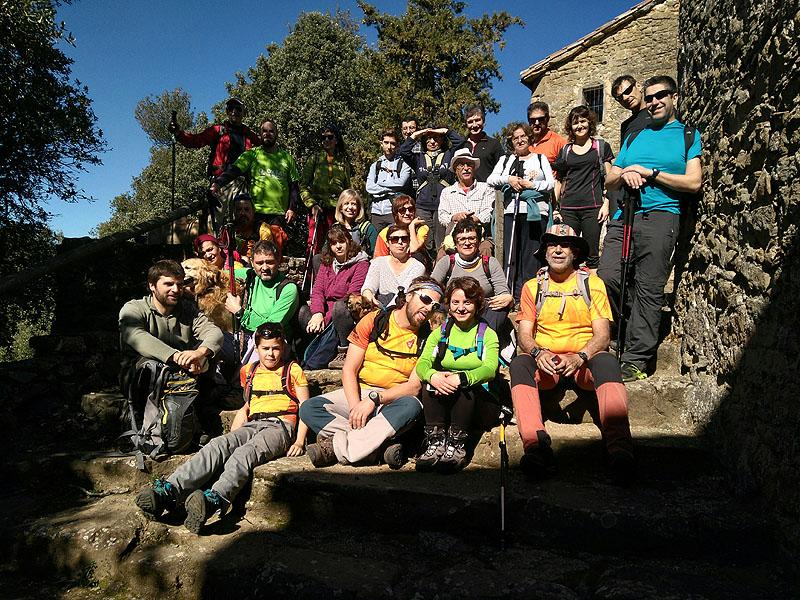 Mieres - Puigsallança 15 - Diumenge, 26 de febrer de 2017