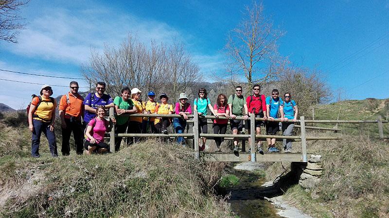 Camí de Sant Jaume: Vall d'en Bas - L'Esquirol - Vic 63 - 18 i 19 de març de 2017