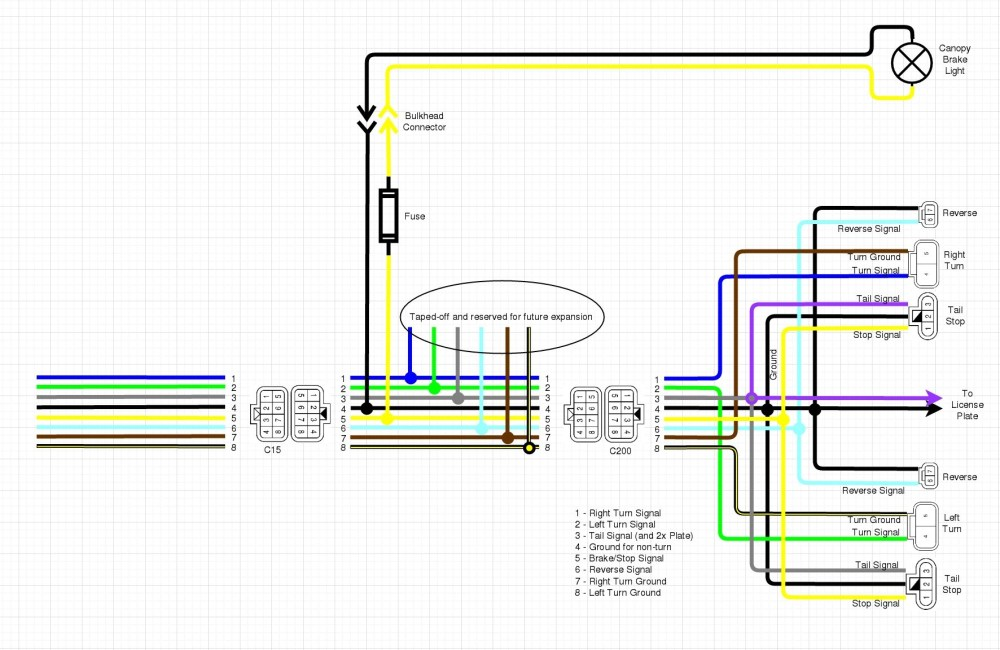 medium resolution of  wiring up the canopy ke light nissan frontier forum on jeep cherokee sport wiring diagram