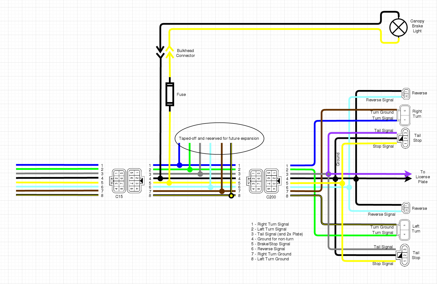 hight resolution of  wiring up the canopy ke light nissan frontier forum on jeep cherokee sport wiring diagram