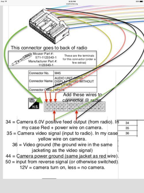 small resolution of ipad camera wiring diagram wiring diagram centreadding aftermarket camera to 2016 frontier sv nissan frontier forumipad