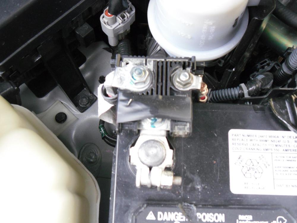 medium resolution of battery terminal fuse problem nissan frontier forum nissan murano fuse box positive terminal