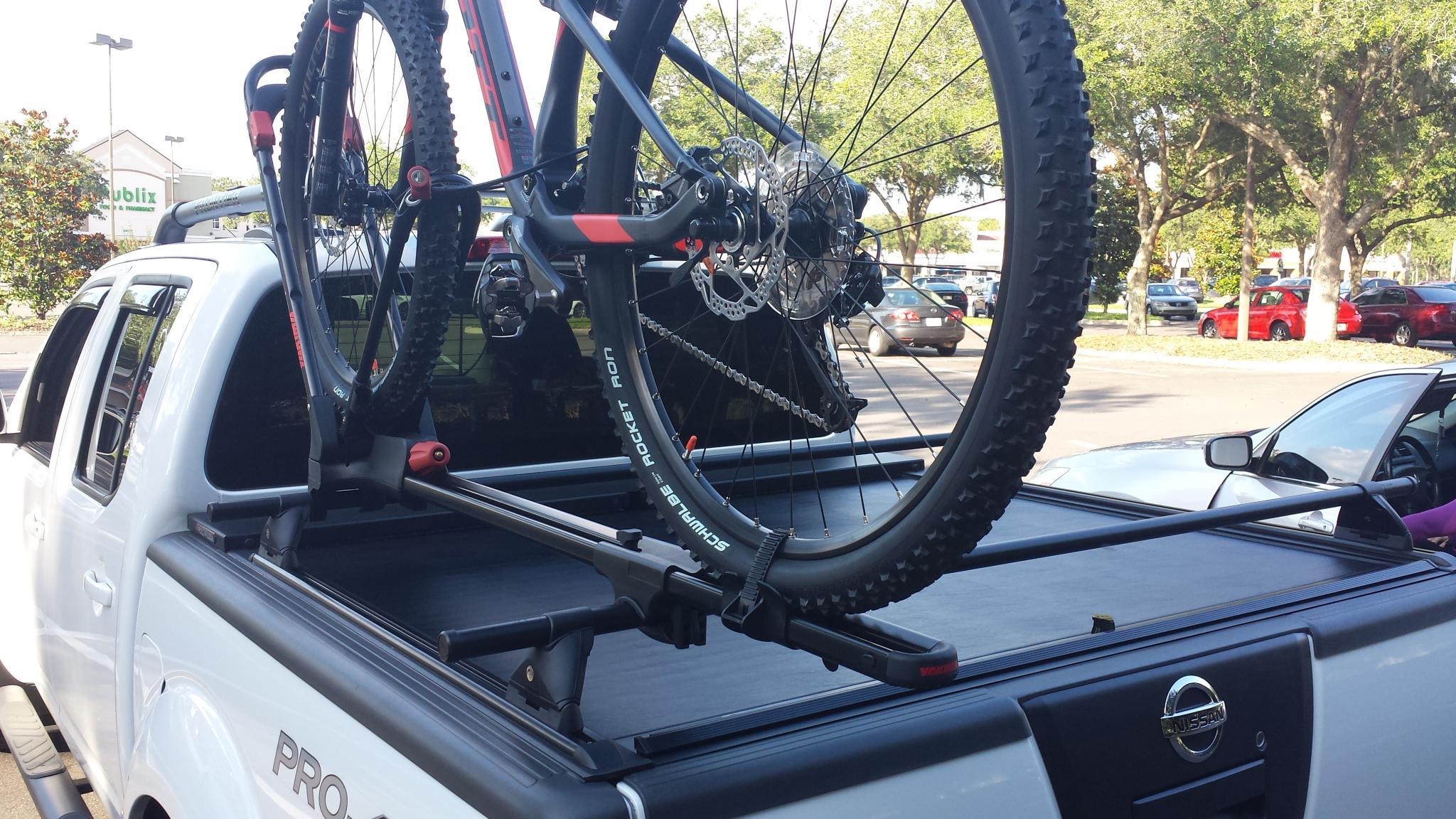 yakima truck bed bike rack