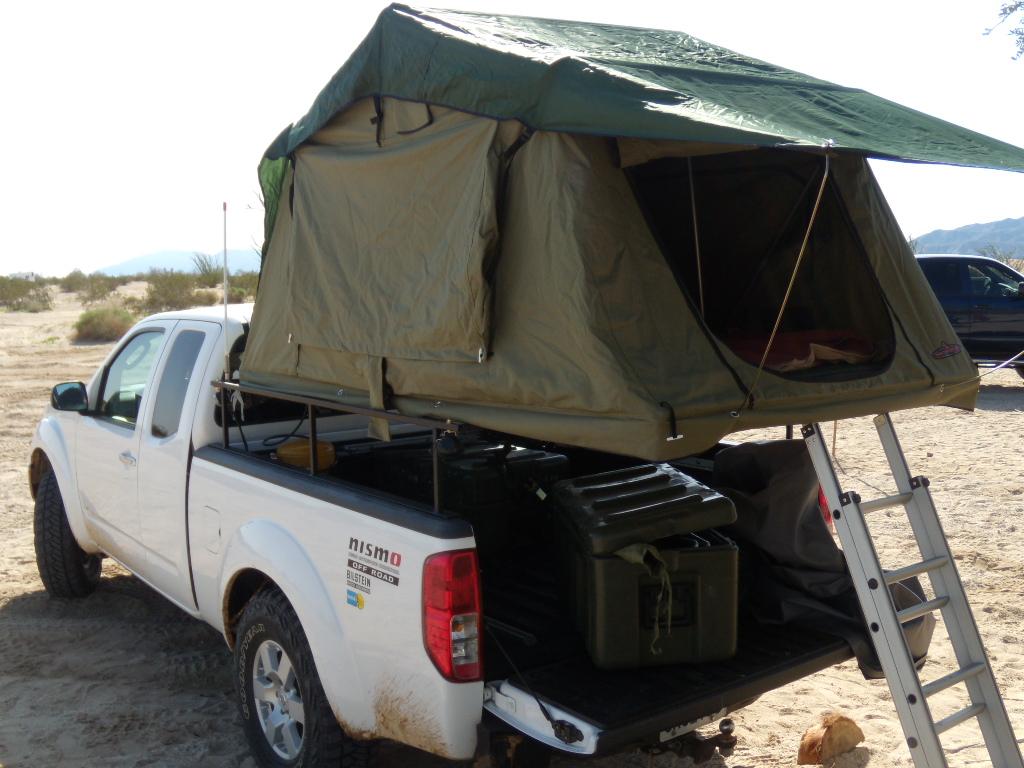 Roof Top Tent Truck Bed Mount