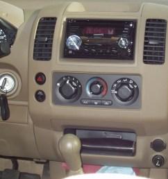 2007 frontier aftermarket radio options that look more stock p9190003 jpg [ 1600 x 1200 Pixel ]