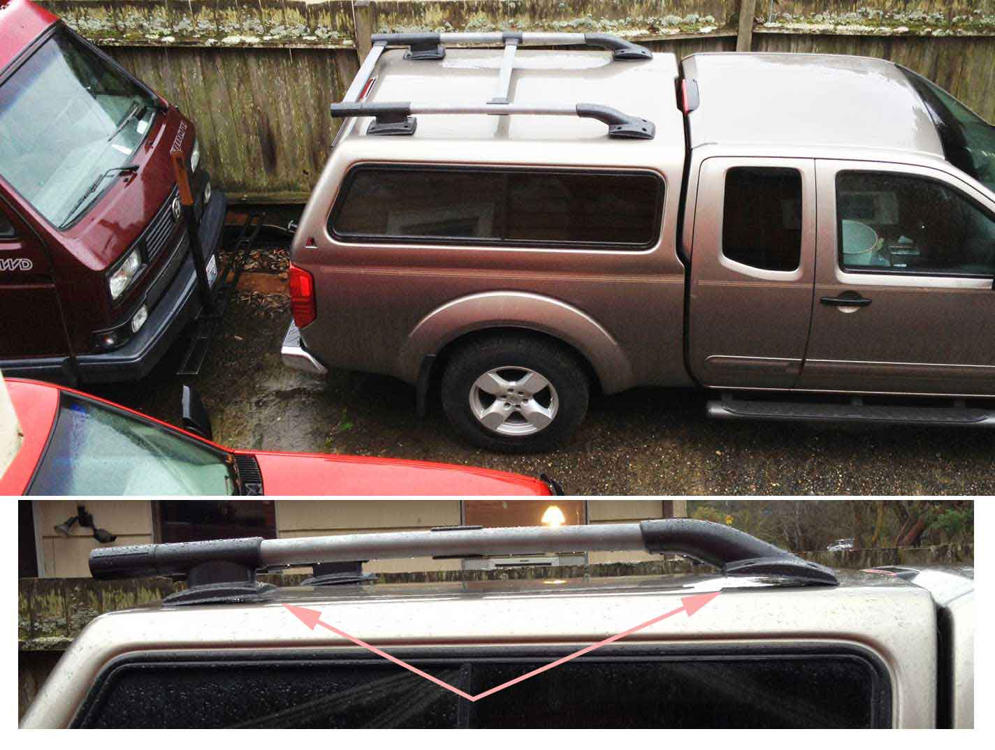XTERRA roof rack on a LEER cap (project, with PHOTOS