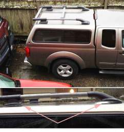 roof rack 05 king cab photos install oem copy nissan frontier forum [ 1424 x 1074 Pixel ]