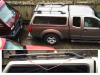 XTERRA roof rack on a LEER cap (project, with PHOTOS ...