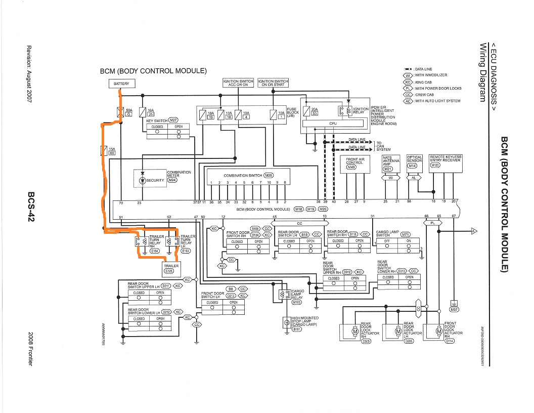 2014 Nissan Frontier Fuse Box Diagram : 37 Wiring Diagram