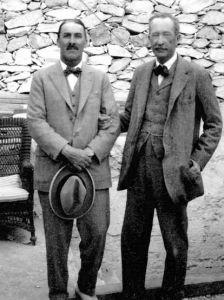 Howard Carter e Lord Carnarvon 2