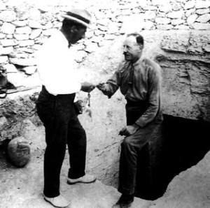 Howard Carter e Lord Carnarvon