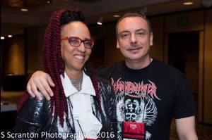 Alessandro Manzetti con Linda D. Addison