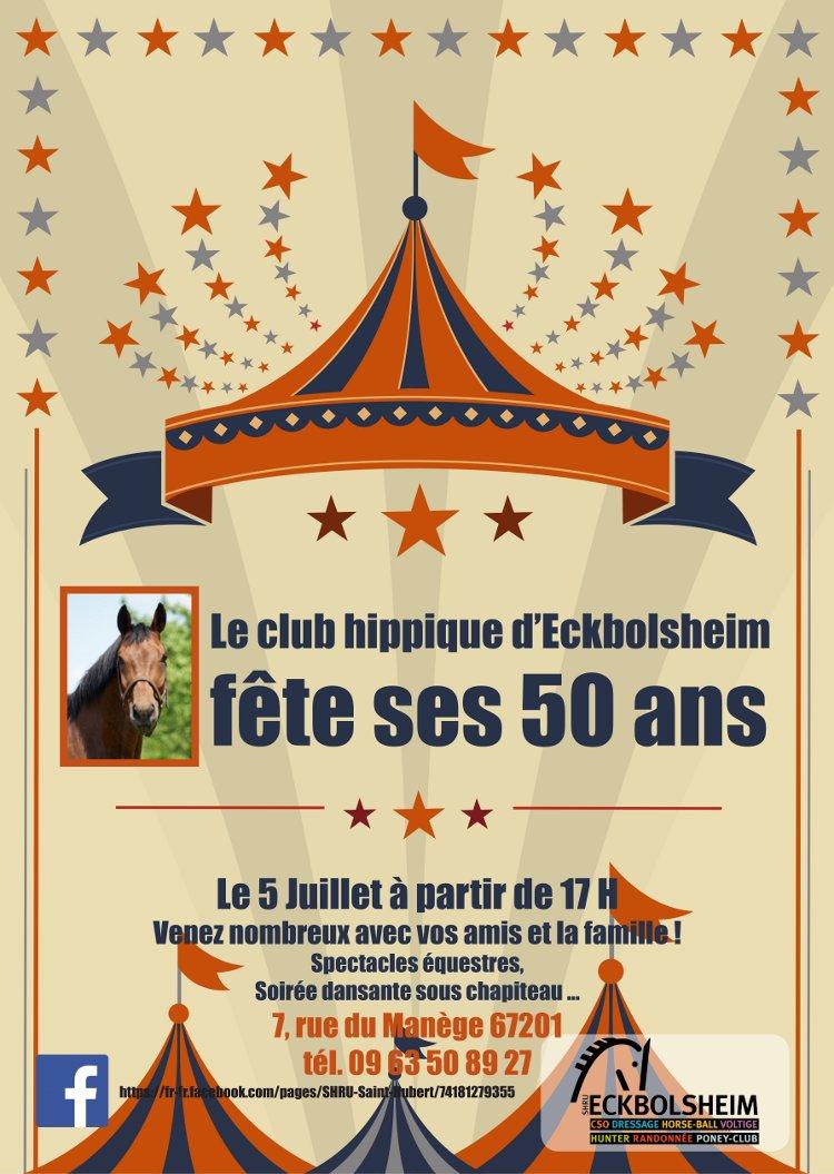 Fête du club d'Eckbolsheim