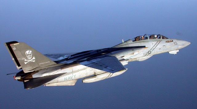 F14B Tomcat 113 Over Water CAPT Dana Smudge Potts