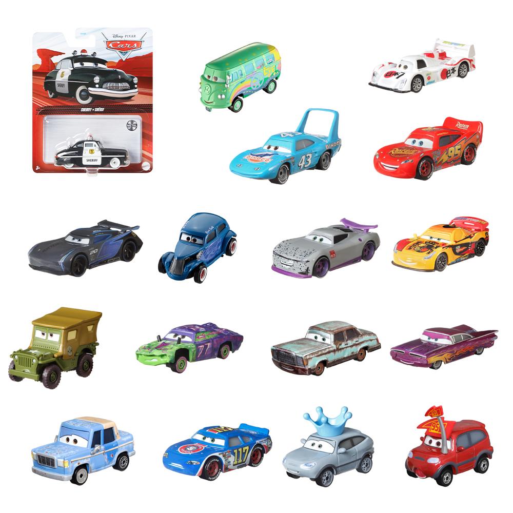 cars 3 voitures en metal 1 64 assortiment