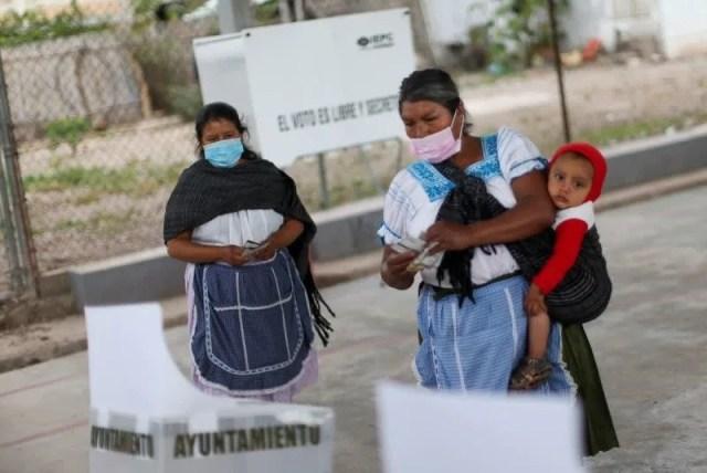 Mujeres logran históricas victorias en elecciones intermedias en México