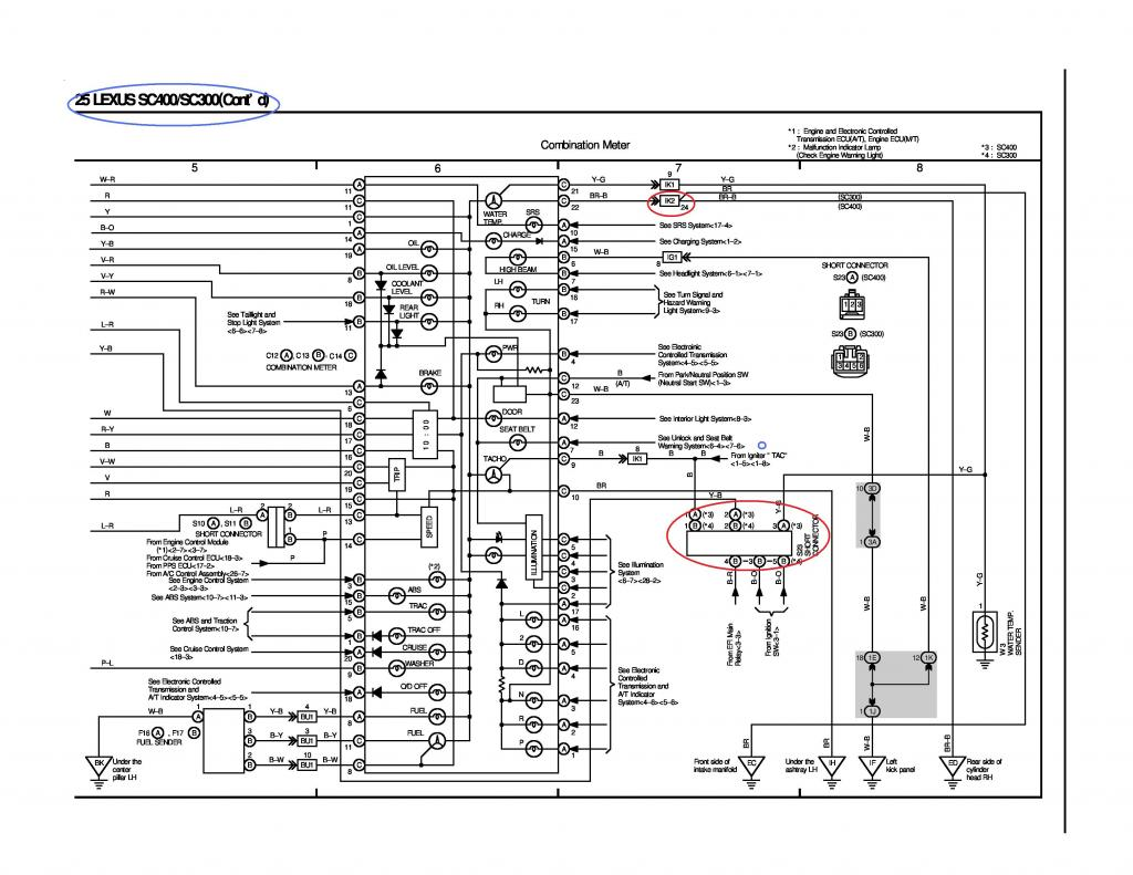 lexus ls400 wiring diagram cow eye dissection 92 engine car parts and nissan