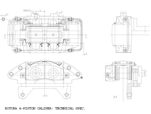 ** New Product Release ** Rotora 4-Piston Big Brake kit