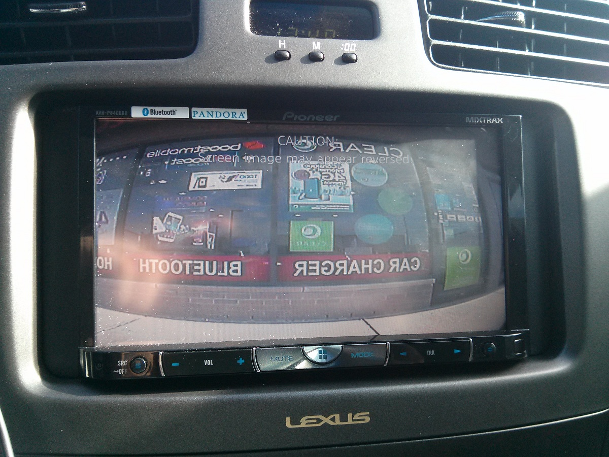hight resolution of pioneer double din avh 8400bh amp 2 12 quot 2002 lexus es300