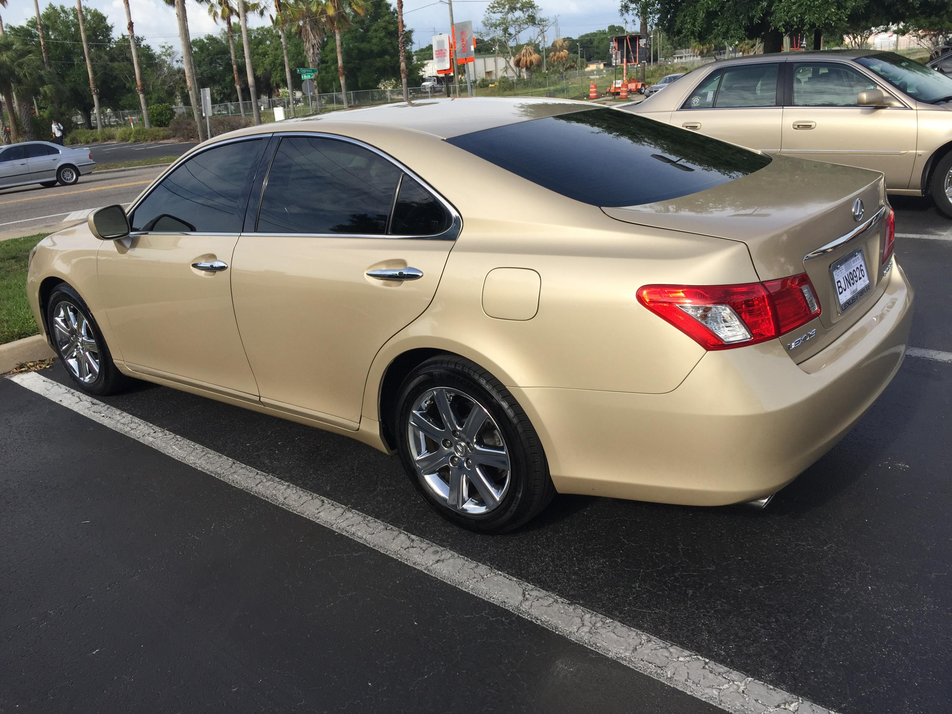 Wel e to Club Lexus ES350 owner roll call & member introduction