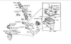 stock air intake diagram  Club Lexus Forums