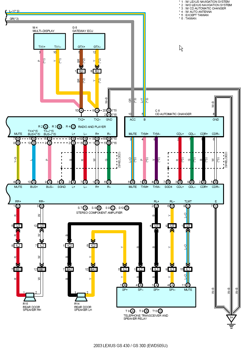 lexus ct 200h wiring diagram