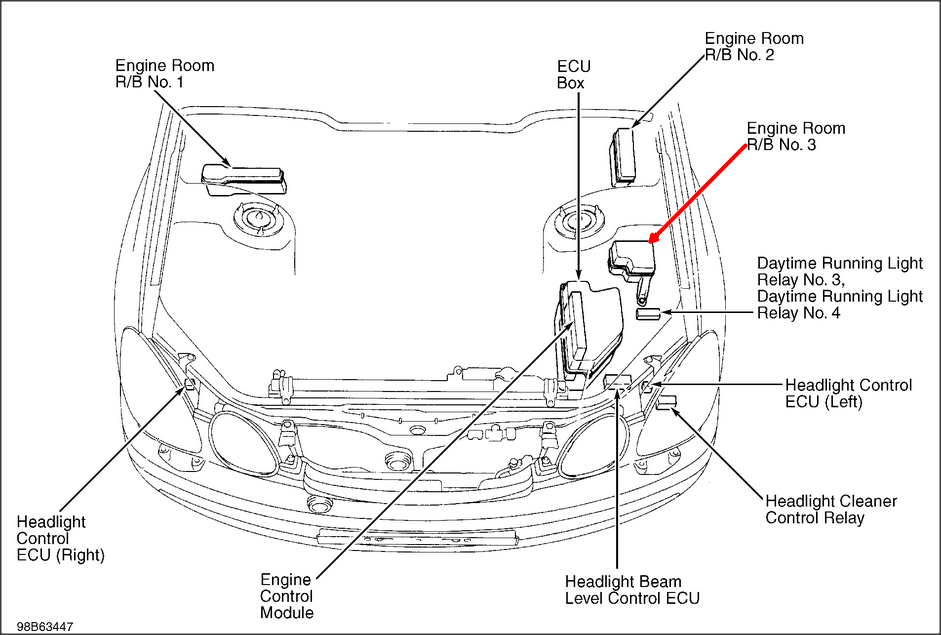 1999 Lexus Gs 300 Engine Diagram Lexus IS250 Engine