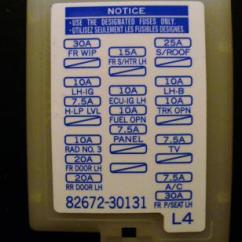 2009 Toyota Yaris Radio Wiring Diagram Telephone Where's The Fuse For Radio/nav Located?? - Clublexus Lexus Forum Discussion