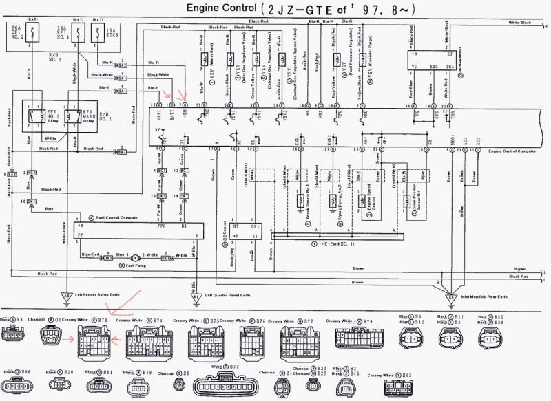 2001 Lexus Is300 Radio Wiring Diagram, 2001, Free Engine