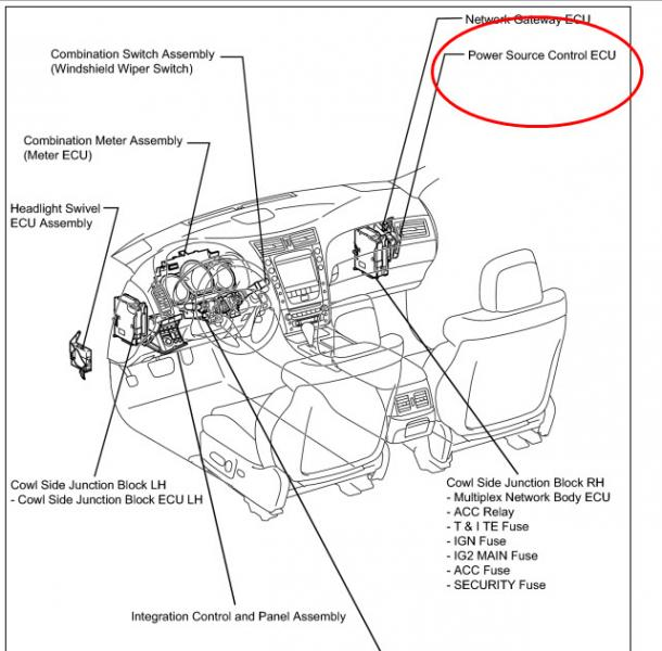1994 Lexus Engine Computer Diagram, 1994, Free Engine