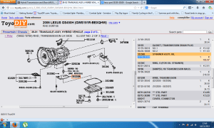 Hybrid Transmission and (Rear diff) 90k fluid change  Page 2  ClubLexus  Lexus Forum Discussion